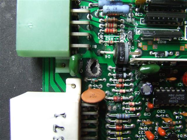 60A70 capacitor failure