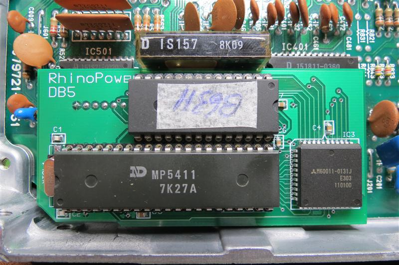 MX5 B63H/B64F daughterboard