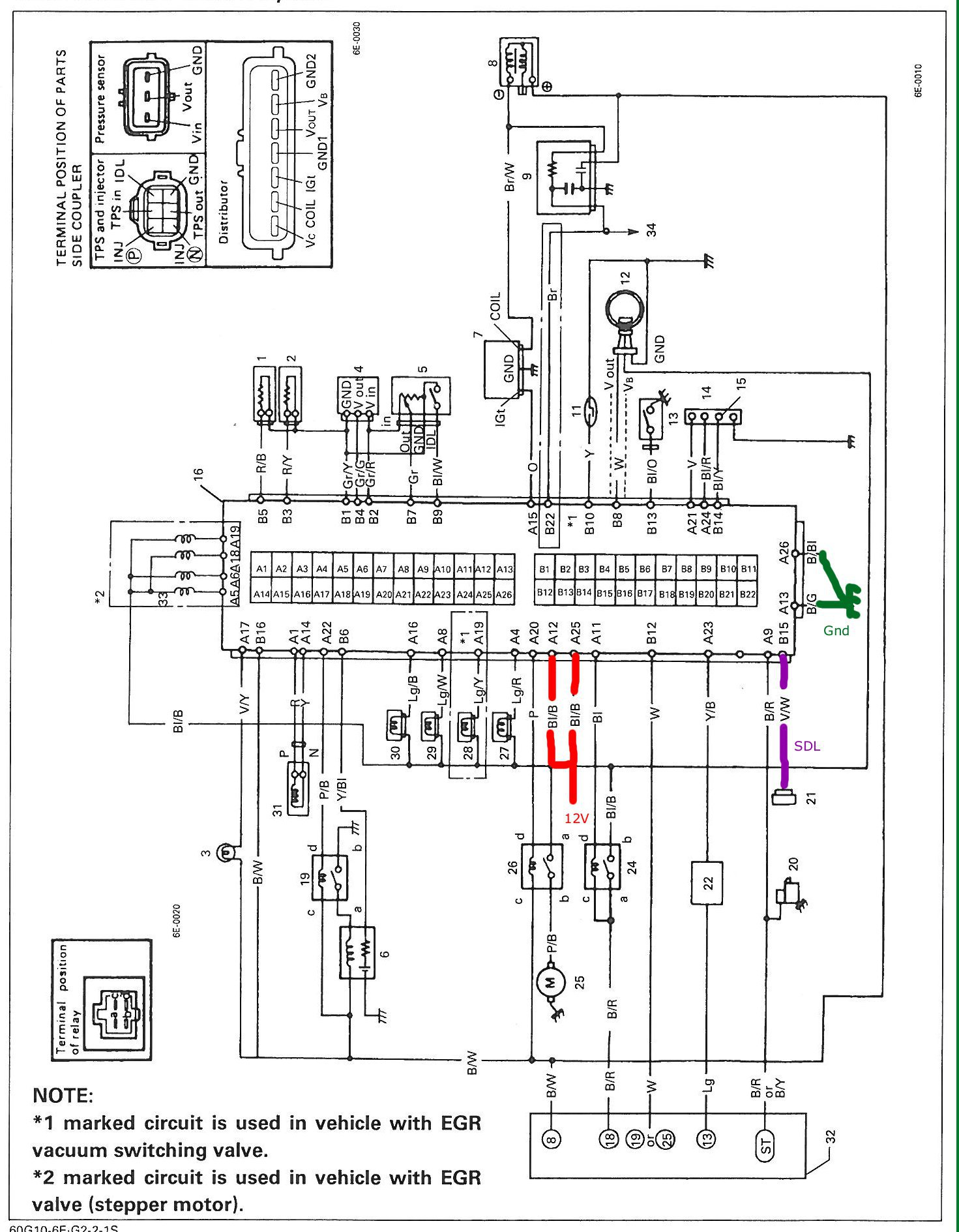 82 Toyota Alternator Wiring Diagram Circuit Schematic Engine Corolla Another Blog About U2022 3 Wire Gm
